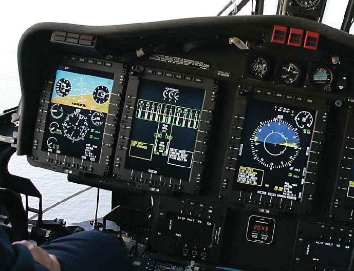 Figure 6-20. MFD Display of Aircraft Systems.