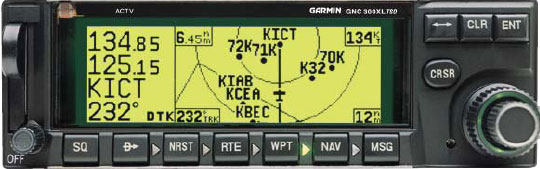 Figure 7-23. Onboard RNAV receivers have changed significantly. Originally, RNAV receivers typically computed combined data from VOR, VORTAC, and/or DME. That is generally not the case now. Today, GPS such as the GNC 300 and the Bendix King KLS 88 LORAN receivers compute waypoints based upon embedded databases and aircraft positional information.